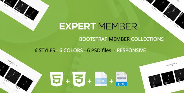 Expert - A Bootstrap Member Layout Collections