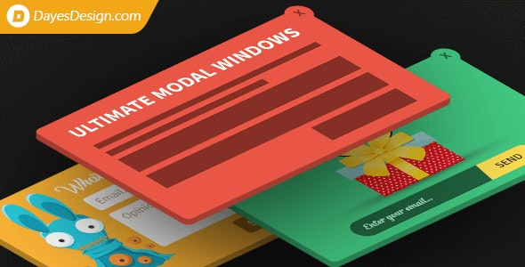 Ultimate Modal Windows - CodeCanyon Item for Sale