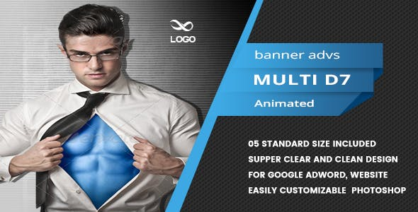 Multi Purpose Banners HTML5 D8 - Animate