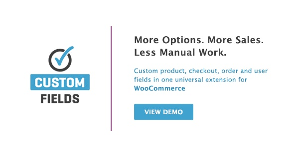 WooCommerce Custom Fields - CodeCanyon Item for Sale