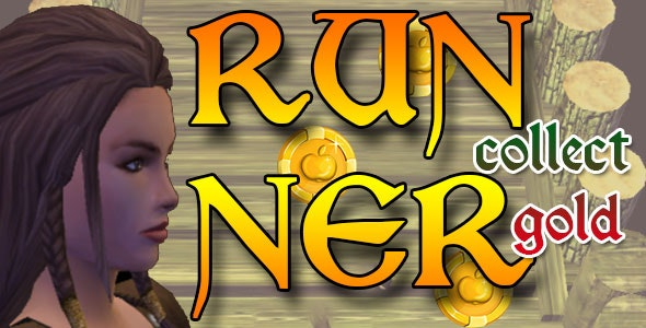 Endless Runner Collect Gold - Unity 3D - CodeCanyon Item for Sale