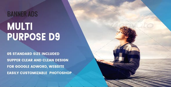Multi Purpose Banners HTML5 D9 - Animate