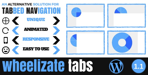Wheelizate Tabs for WordPress - CodeCanyon Item for Sale