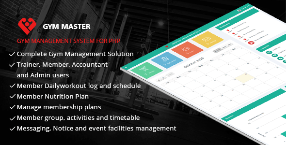 Gym Master - Gym Management System
