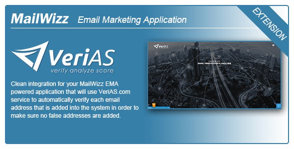 MailWizz EMA integration with VeriAS.com