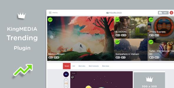 KingMEDIA - Trending Plugin - CodeCanyon Item for Sale