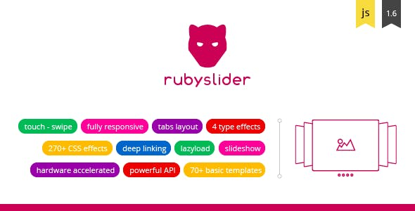 Ruby Slider - Live Touch Effect Slider