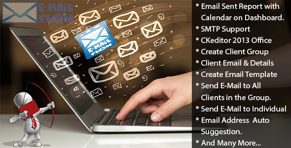 Email Flow - Simple & Easy Email Marketing Tool ( V2.0 ) - CodeCanyon Item for Sale