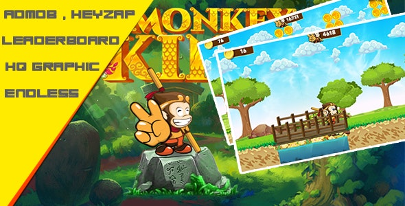 King Monkey  - Admob + Leaderboard - CodeCanyon Item for Sale