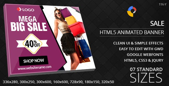 Big Sale - HTML5 Ad Banners
