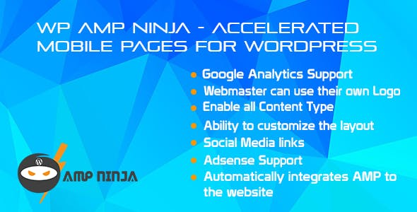 WP AMP Ninja - Accelerated Mobile Pages for WordPress