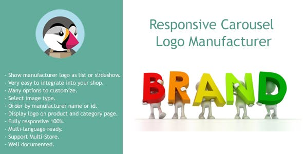Partners Manufacturers Brand Logo Slider & Gallery