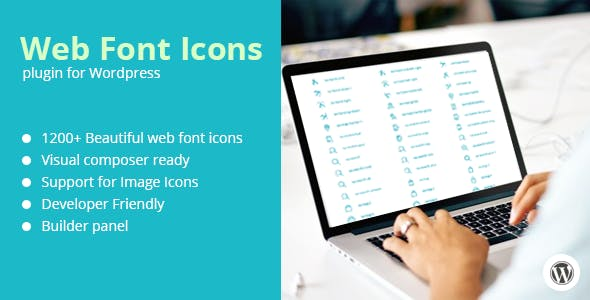Web Font Icons + Add-on for Visual Composer