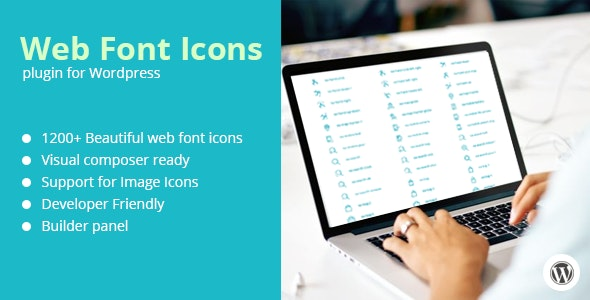 Web Font Icons + Add-on for Visual Composer - CodeCanyon Item for Sale