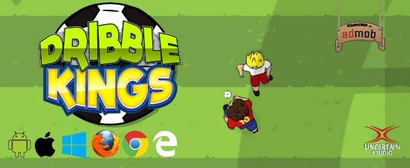 Dribble Kings - HTML5 Football Game (.capx) - CodeCanyon Item for Sale
