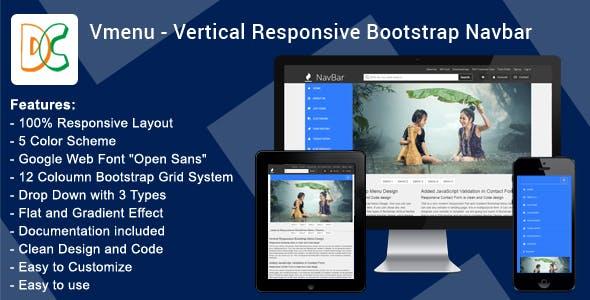 DC - Vertical Responsive Mega Nav Menu V1.0