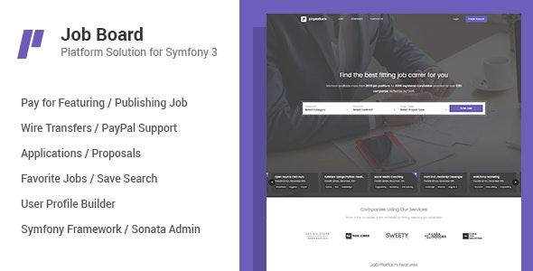 Job Board Platform for Symfony - CodeCanyon Item for Sale