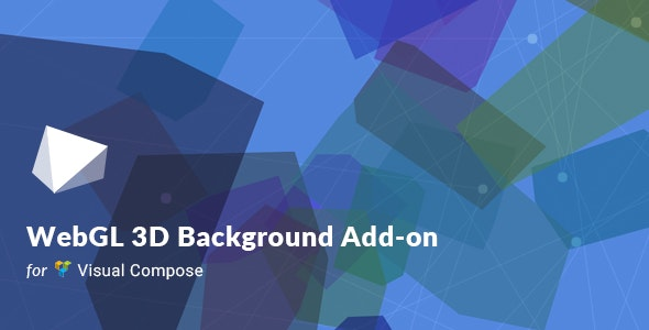 WebGL 3D Background For Visual Composer - CodeCanyon Item for Sale