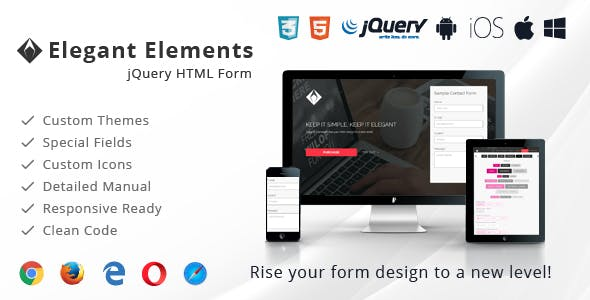 jQuery Forms - Elegant Elements