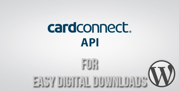 CardConnect API Gateway for Easy Digital Downloads - CodeCanyon Item for Sale