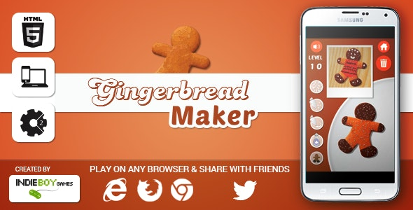 Gingerbread Maker - CodeCanyon Item for Sale