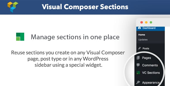 Visual Composer Sections