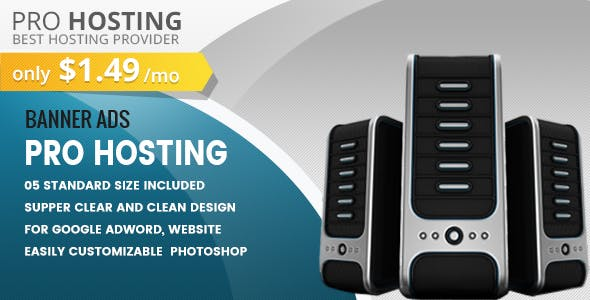Pro Hosting Banners HTML5 - Animate