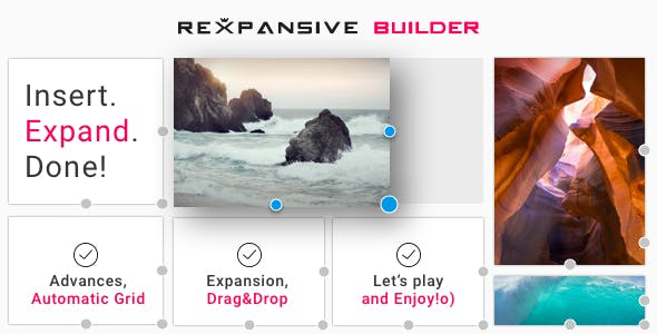 Rexpansive Page Builder | Insert. Expand. Done!