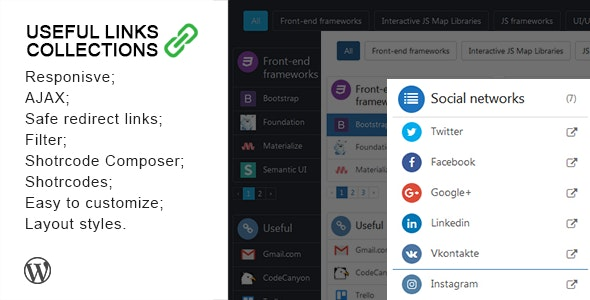 Useful Links Collections - CodeCanyon Item for Sale