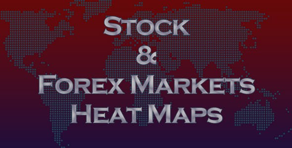 Stock & Forex Markets Heat Maps | PHP Plugin