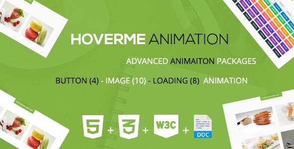 HoverMe - A CSS3 Animation Packages