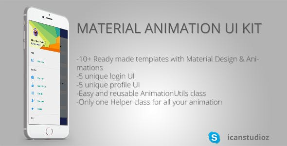 Material Animation Kit | Easy Integration | Android Studio