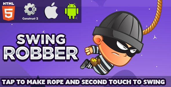 Swing Robber - HTML5 Game (CAPX) - CodeCanyon Item for Sale