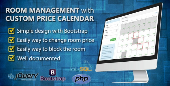 Room Management with Custom Price Calendar - CodeCanyon Item for Sale