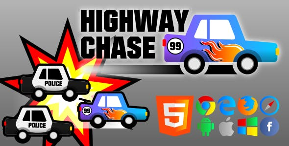 Highway Chase - HTML5 Game