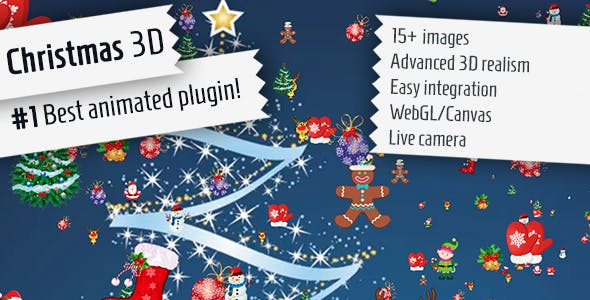 Christmas 3D - jQuery Plugin