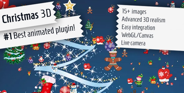 Christmas 3D - jQuery Plugin - CodeCanyon Item for Sale