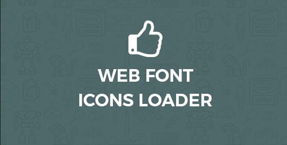 Font icons loader for wordpress