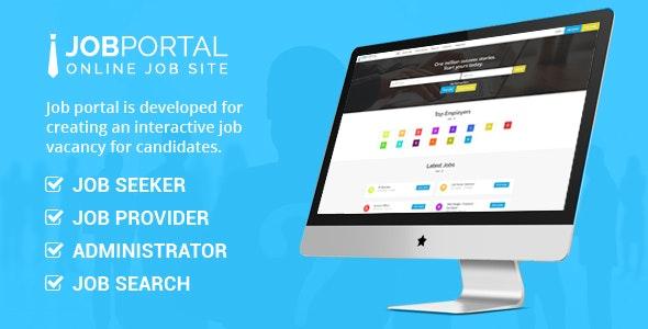 Job Portal - CodeCanyon Item for Sale