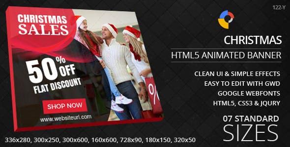 Christmas - HTML5 Ad Banners