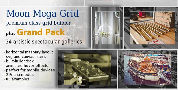 Moon Mega Grid plus Grand Pack