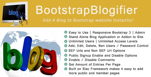 Bootstrap Blogifier - CodeCanyon Item for Sale
