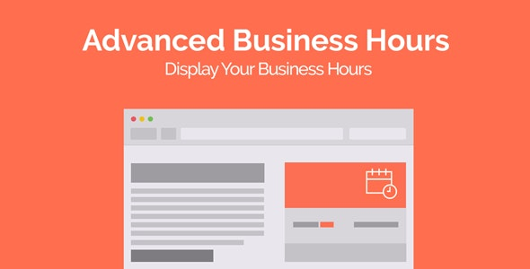Advanced Business Hours - CodeCanyon Item for Sale