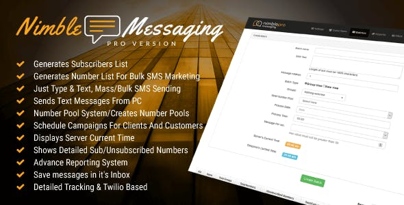 Sms Marketing PHP Scripts from CodeCanyon