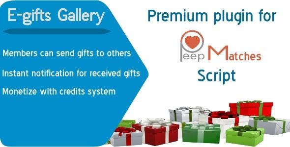 Egifts - premium plugin for peepmatches script - CodeCanyon Item for Sale