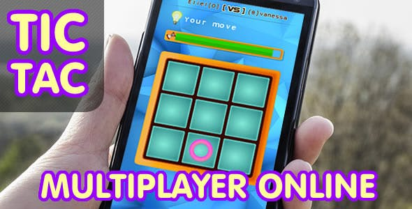 Tic Tac Toe - Online Multiplayer (.CAPX)
