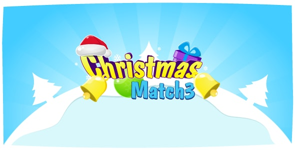 Christmas Match3 - HTML5 Game Construct2 (.capx) + leaderboard API - CodeCanyon Item for Sale