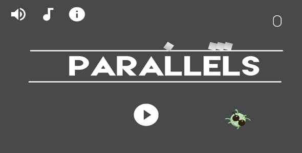 Parallels Game Play - 80 levels - 8 characters - Google Play Services - Buildbox Included