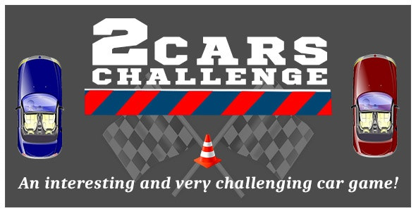 2 Cars Challenge - Unity3D Game Project by DigiSmileLtd   CodeCanyon