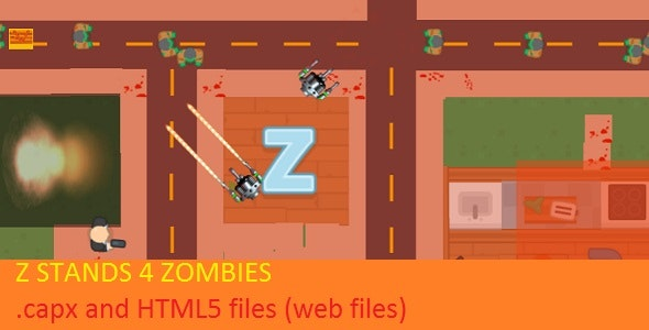 Zombie Shooter Game - CodeCanyon Item for Sale